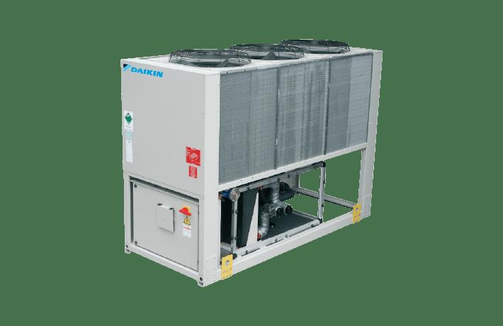 Холодильні машини з повітряним охолодженням