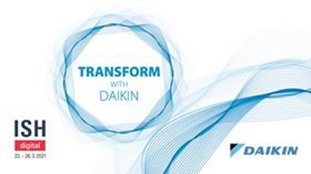 Daikin confirms participation in ISH digital 2021